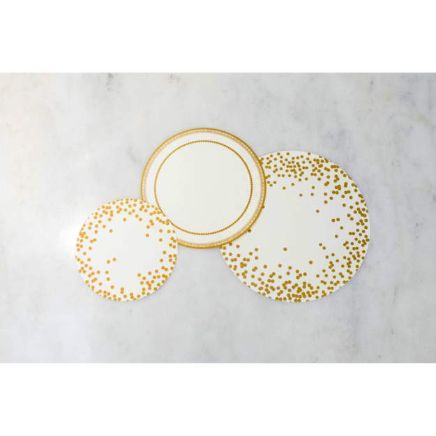 Hester and Cook - Gold Serving Paper