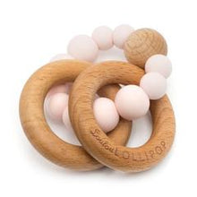 Load image into Gallery viewer, Loulou Lollipop - Bubble Silicone and Wood Teether