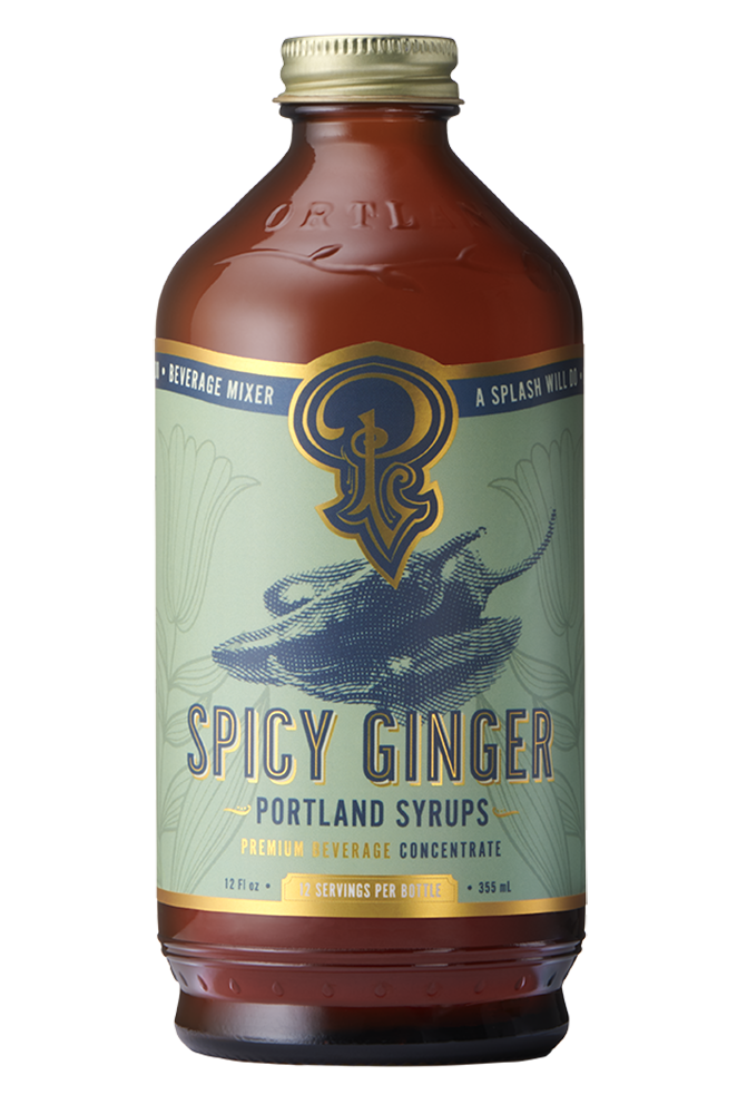 Portland Syrups- Spicy Ginger syrup 16oz.