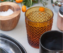 Load image into Gallery viewer, Blue Pheasant - Grayson Amber Tumbler