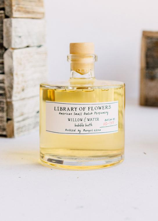 Library of Flowers - Bubble Bath - Willow and Water