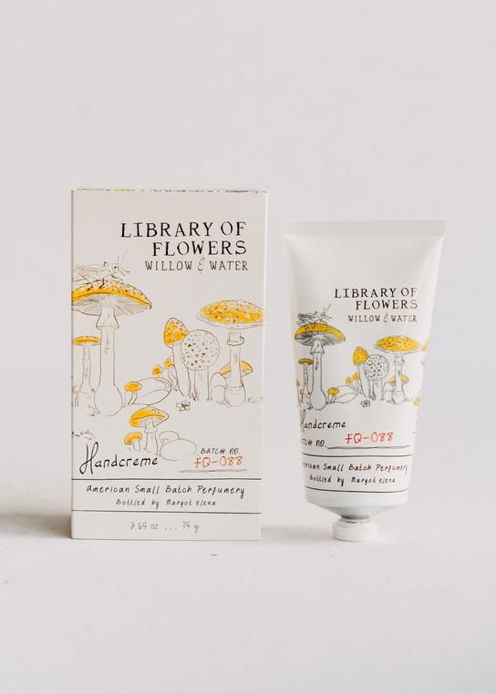 Library of Flowers - Boxed Handcreme - Willow and Water