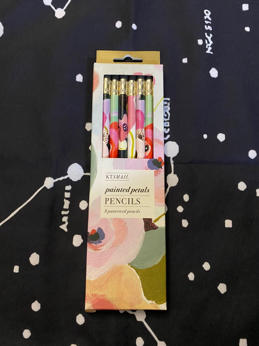 Chronicle Books - Painted Petals Pencils