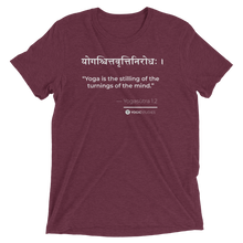 Load image into Gallery viewer, Yogasūtra 1.2 T-Shirt (Color)