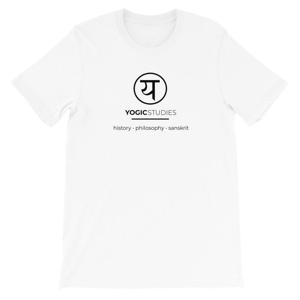 Yogic Studies Classic T-Shirt (White)