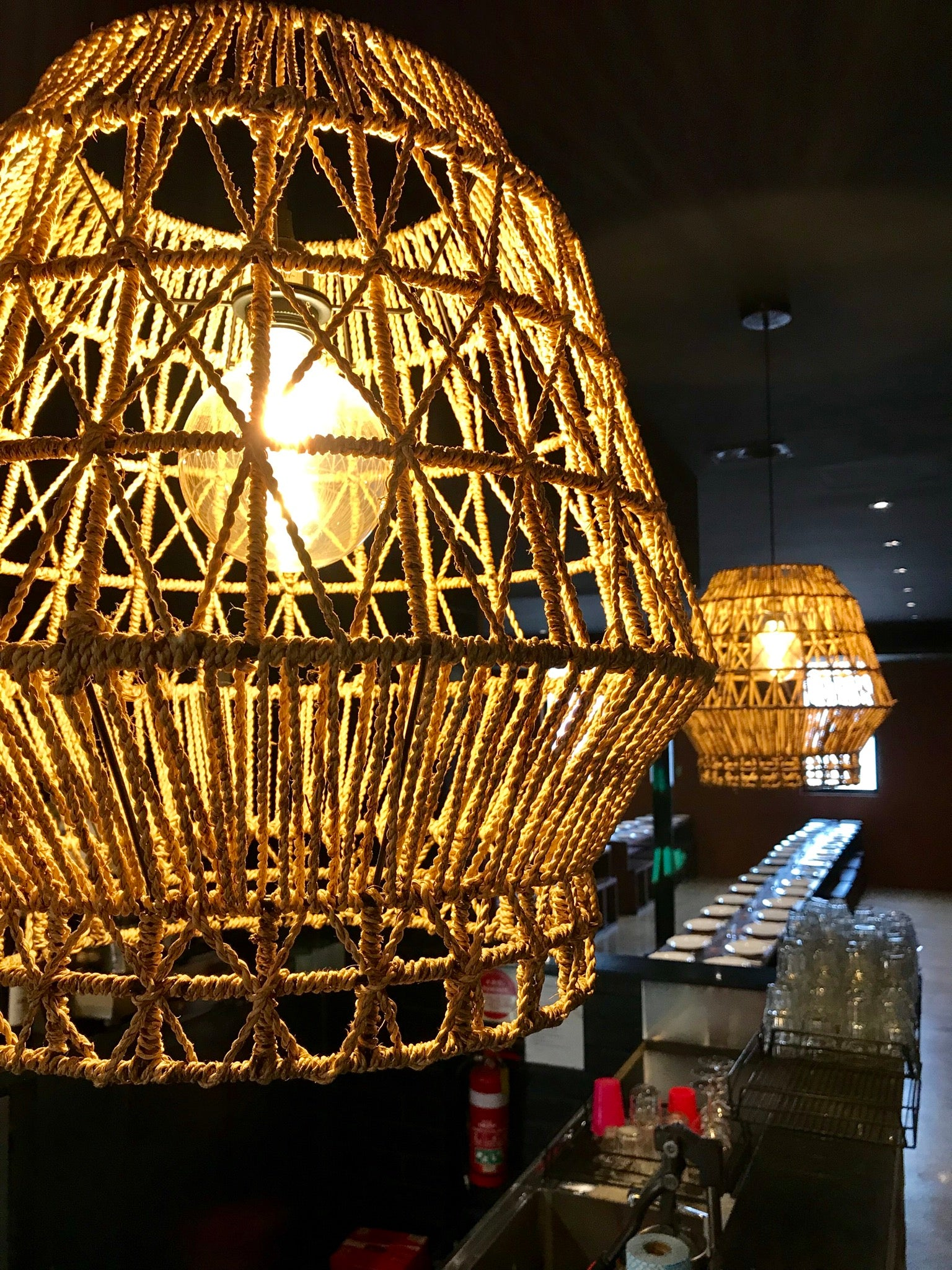 pendant antique light shades of rope with globe jute brass products