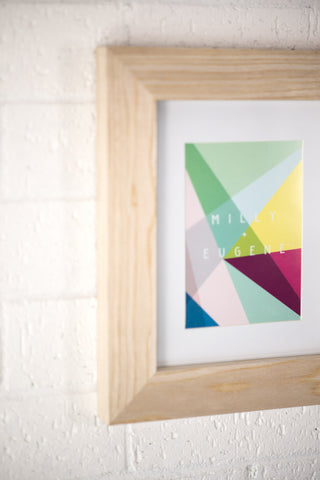BOLD RAW WOOD FRAME