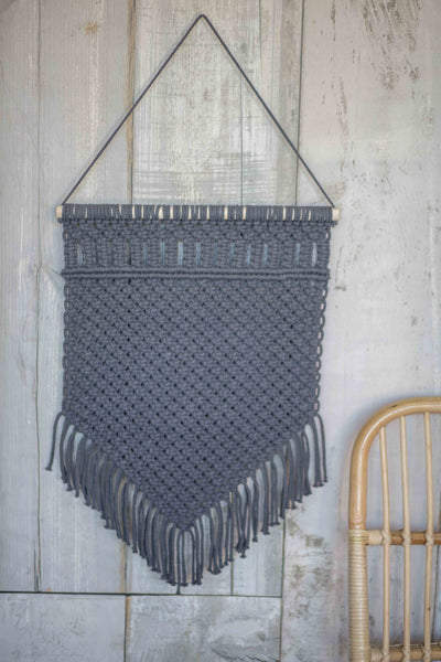 TEXTURED TREASURE WALL HANGING | GREY(2 PIECE SPECIAL)