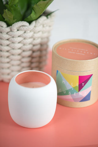 DOME SNOW CAPPED CANDLE