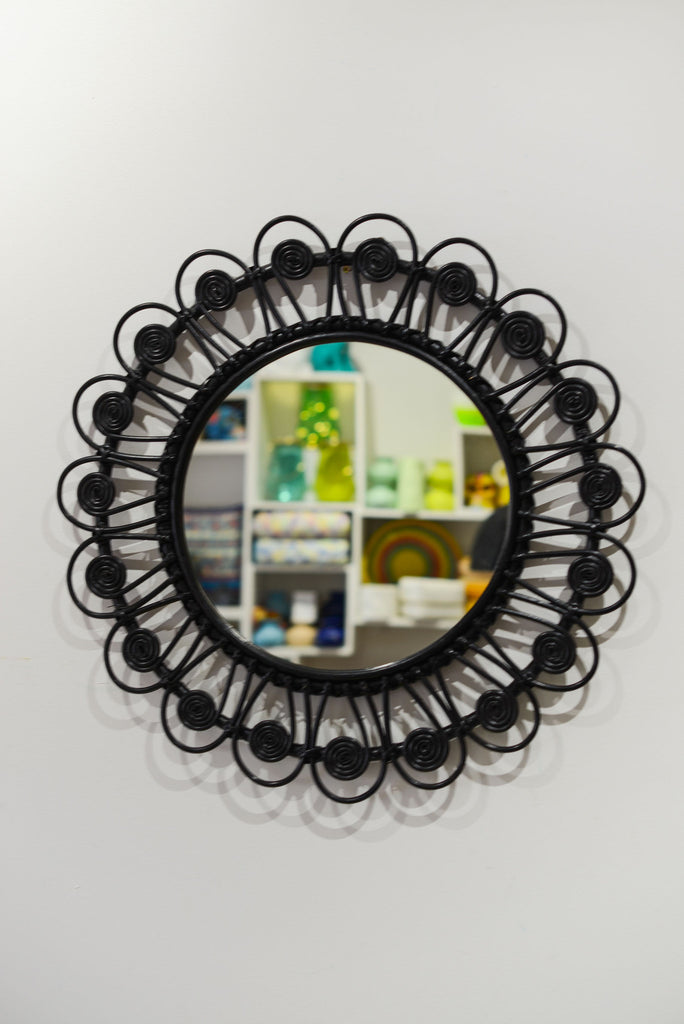 BLACK PEACOCK MIRROR