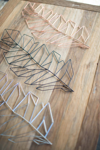 WIRE FEATHERS