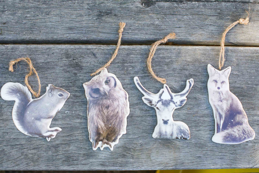 WOODLAND CERAMIC DECORATIONS