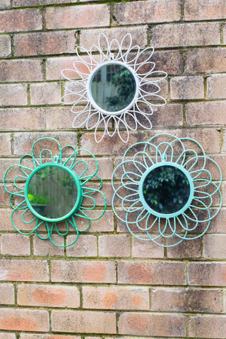 FLOWER MIRROR SET