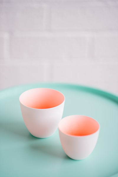 CORAL FADED CUP SET