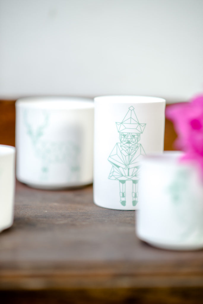 GEOMETRIC TEA-LIGHT SET