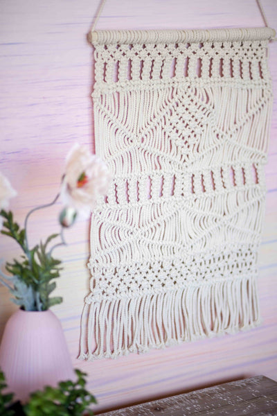 WEAVED WONDERER WALL HANGING | CREAM(2 PIECE SPECIAL)
