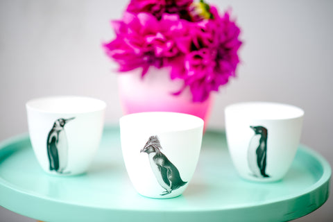 PENGUIN TEA-LIGHT SET