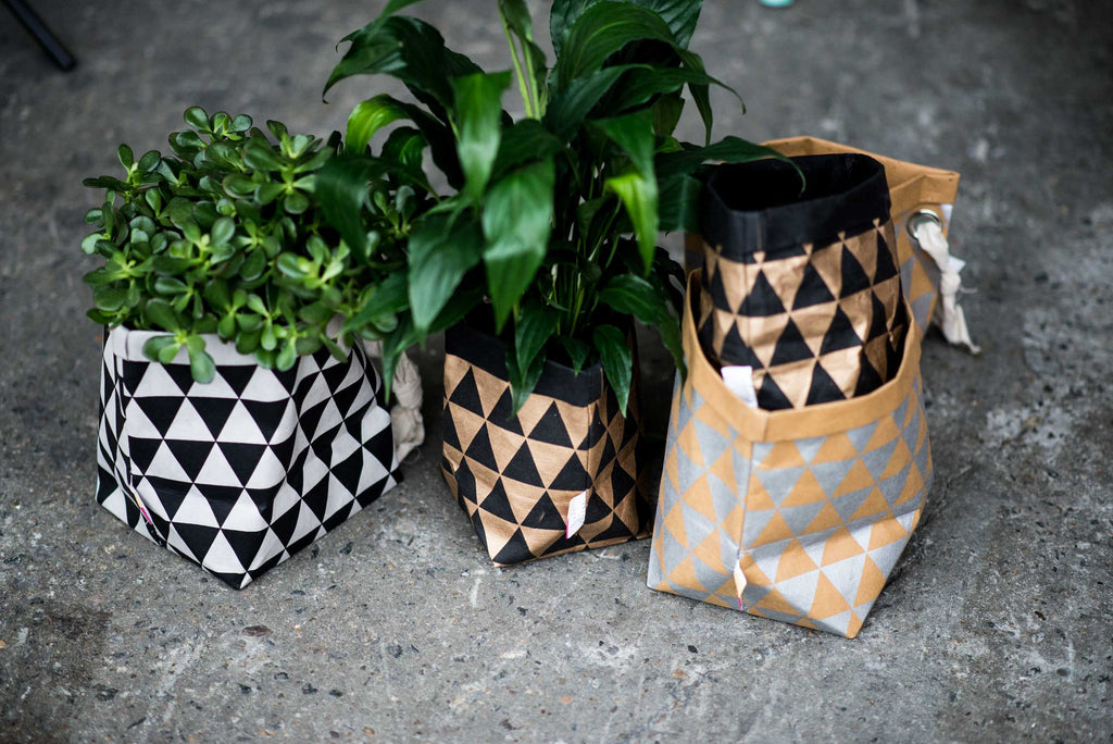 BROWN RECYCLED PAPER BAGS