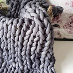 Charcoal Cotton Tube Yarn | Available online at HEART from HAZEL