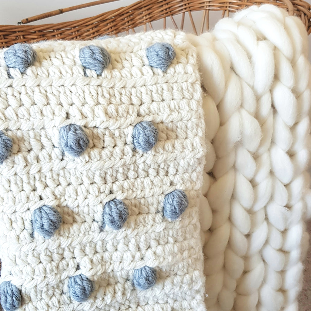Bobble Baby Blanket (Pattern Only)