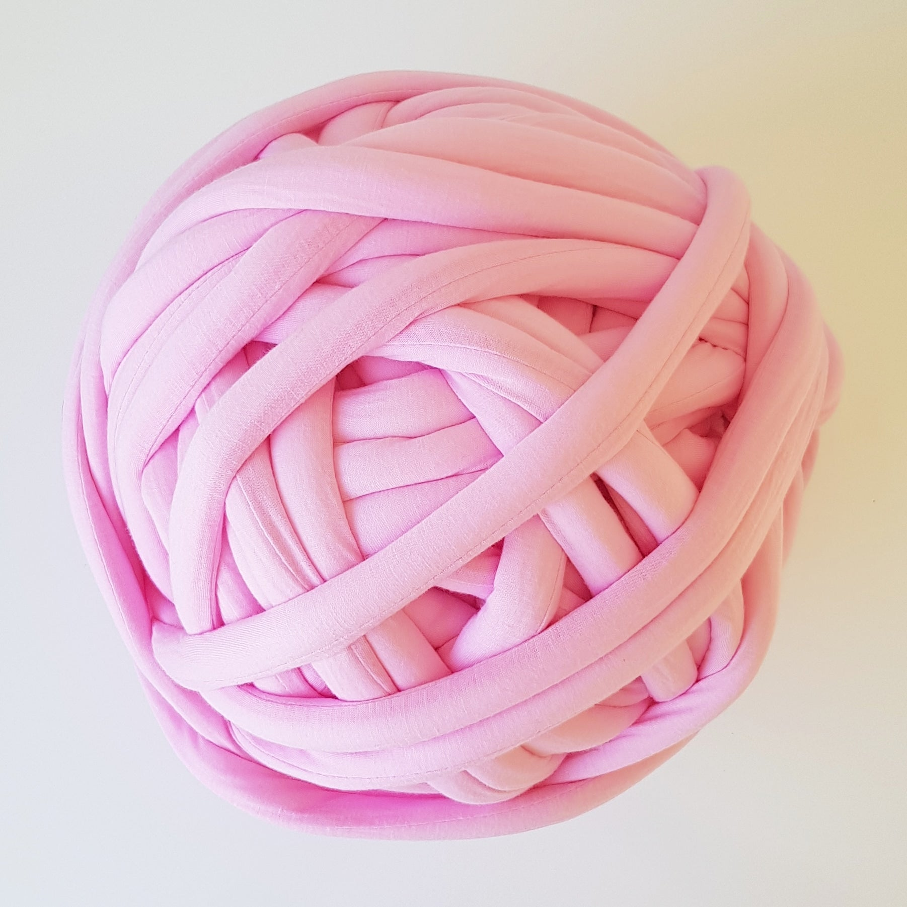 Light Pink Cotton Tube Yarn | Available online at HEART from HAZEL