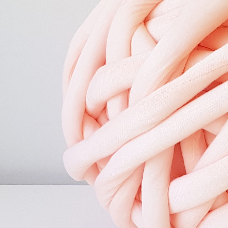 Peach Cotton Tube Yarn | Available online at HEART from HAZEL