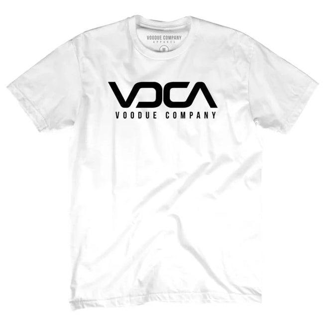 Oversized Balanced VC Logo  – White