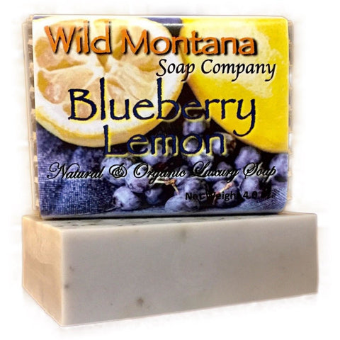 Blueberry Lemon - Wild Montana Soap Company
