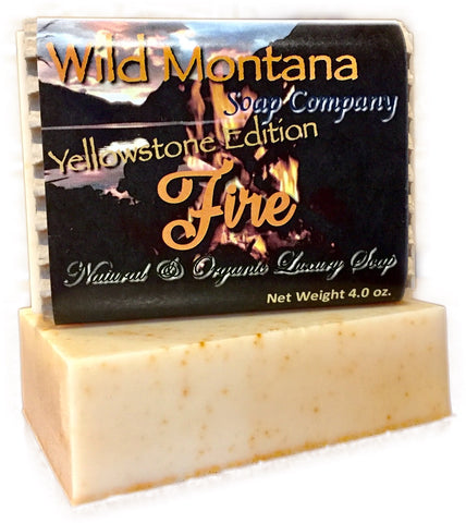 Fire ~ Element Series - Wild Montana Soap Company