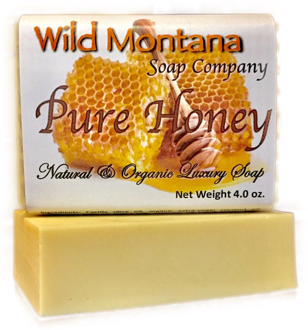 Pure Honey - Wild Montana Soap Company
