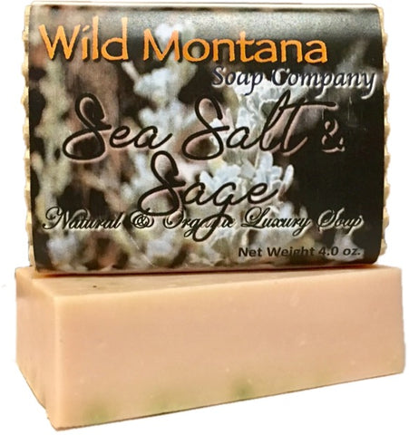 Sea Salt & Sage - Wild Montana Soap Company