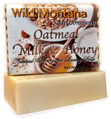 Oatmeal Milk & Honey - Wild Montana Soap Company