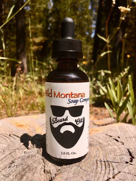 All natural Beard Oil - Wild Montana Soap Co.