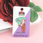 Fierce Fairy- Enamel Pin