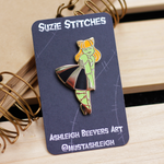 Suzie Stitches - Enamel Pin