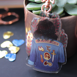 House of Courage Glitter Charm