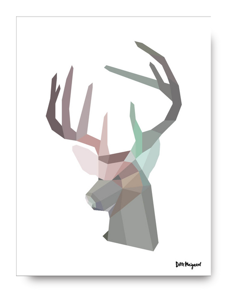 Brother Deer Poster - 30x40