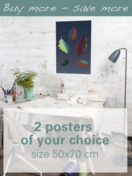 2 Posters Of Your Choice - 50x70