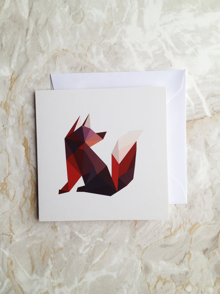 Mr Fox Card