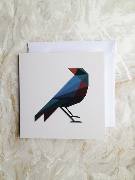 Uncle Blackbird Card - only a few left