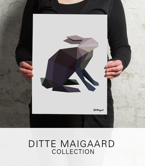 Ditte Maigaard Collection Plakat Prints Kunst Art Design