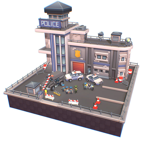 Smashy Craft Police Station
