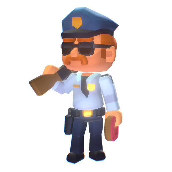 Sugar Cop - Smashy Craft Series - Free Download
