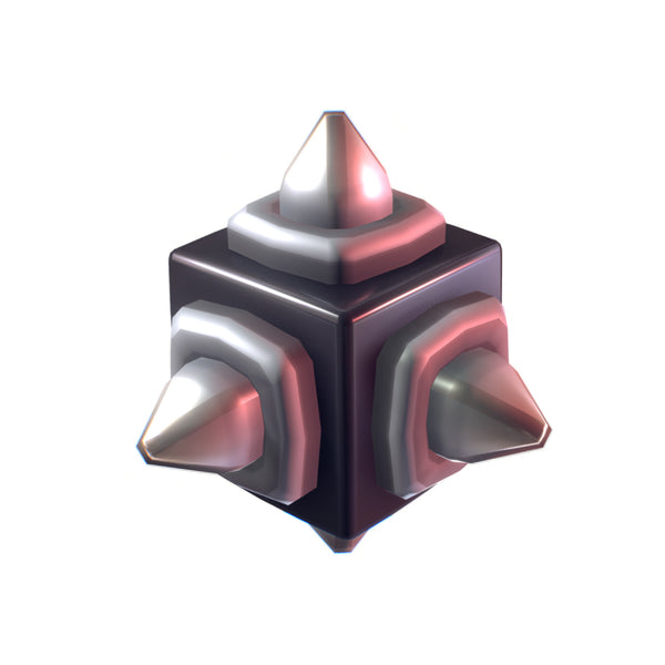 Cube World Metal Spike Block - Proto Series