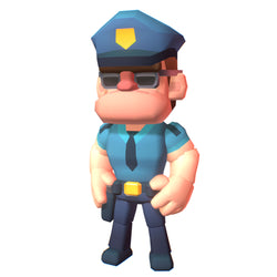 Police Officer Hunter - Proto Series