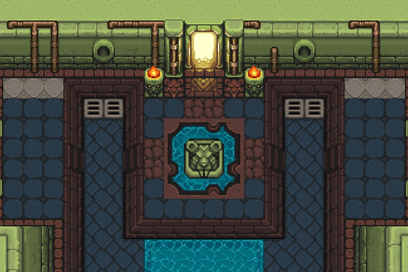 2D Pixel Dungeon Level Chip Set 03