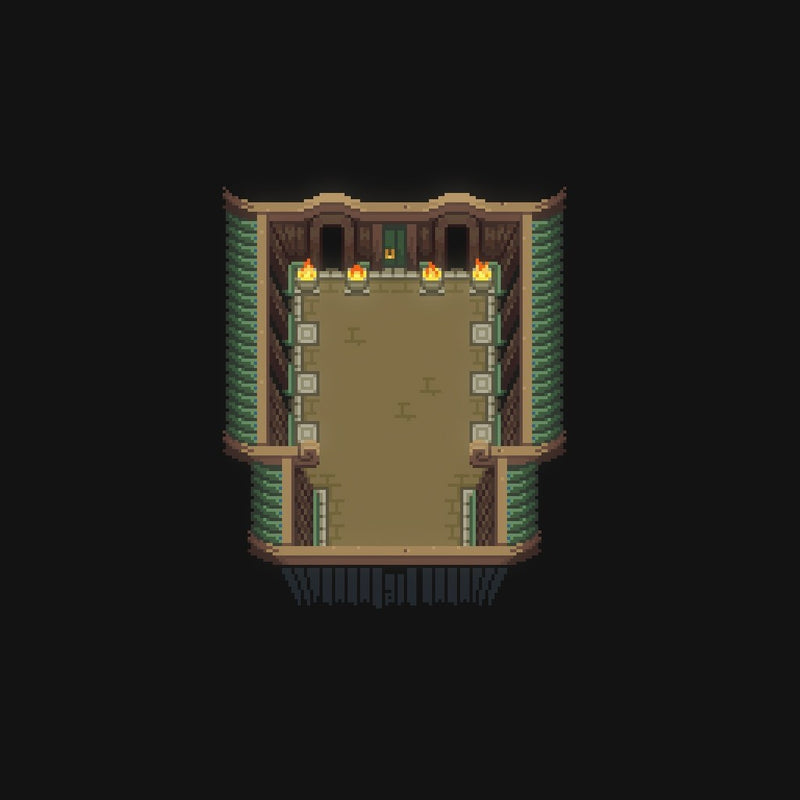 2D Environment - Micro Pixel Dojo Chip Set
