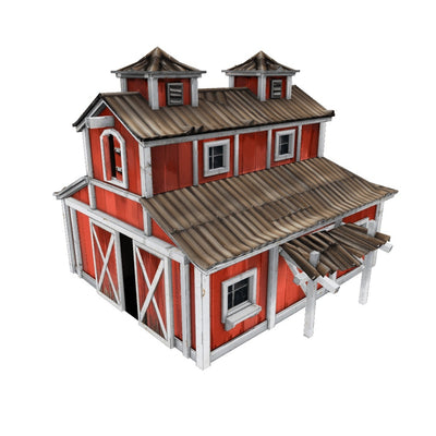 Buildings - Barn - Low Poly 3D Model