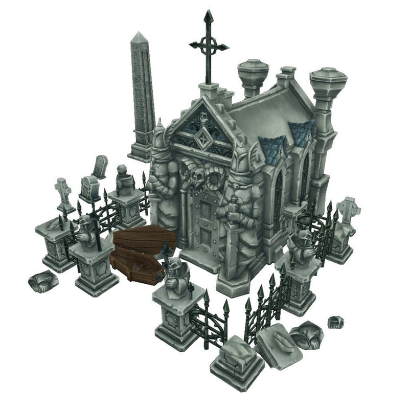 Buildings - Cemetery Starter Set