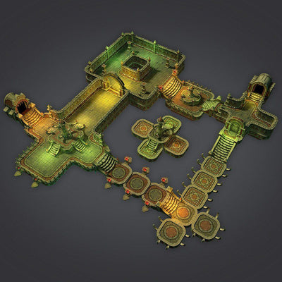 Buildings - Cloudy Dungeon Set - 3dfancy